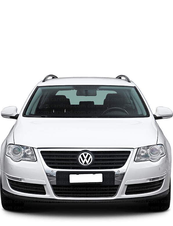 Volkswagen Passat Estate 2005-2010 Front View