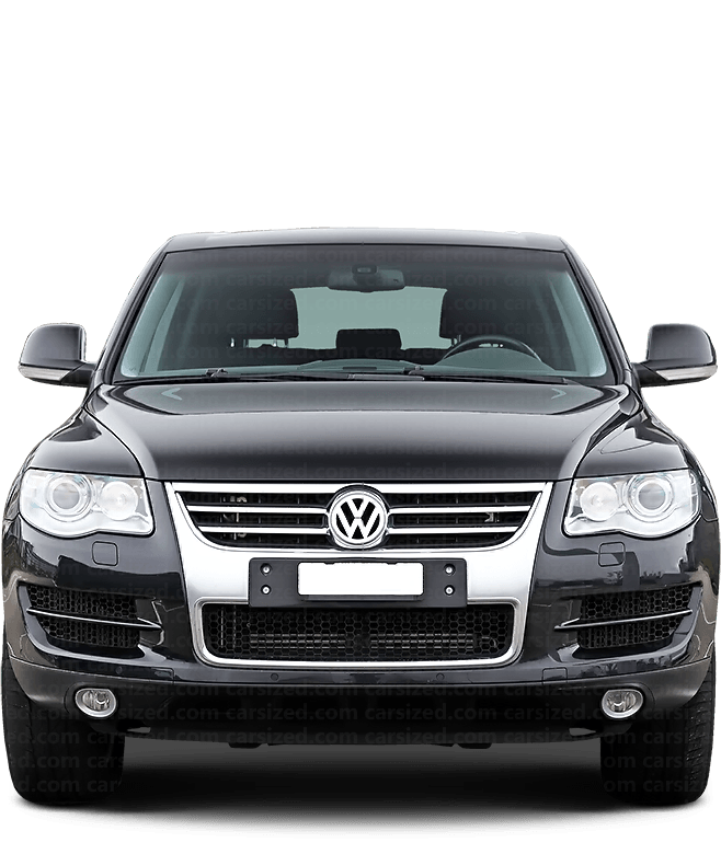 Volkswagen Touareg SUV 2002-2010 正面図