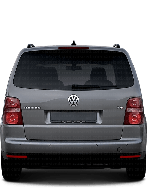 Volkswagen Touran Minivan 2006-2010 Rear View