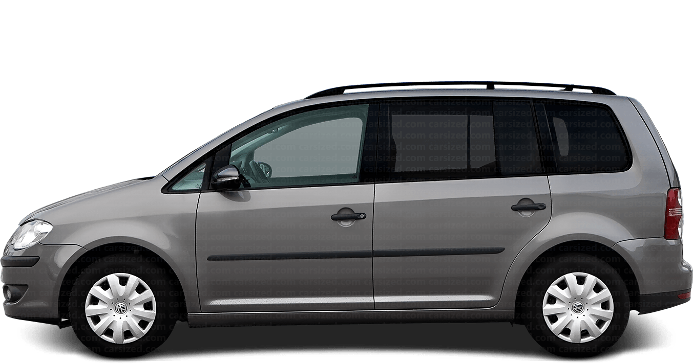 Volkswagen Touran Minivan 2006-2010 Side View