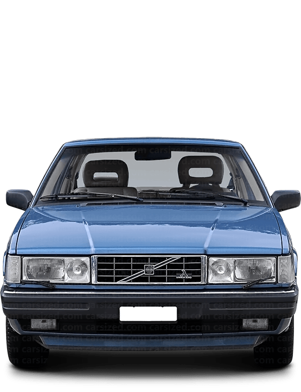 Volvo 780 coupé 1986-1990 Front View