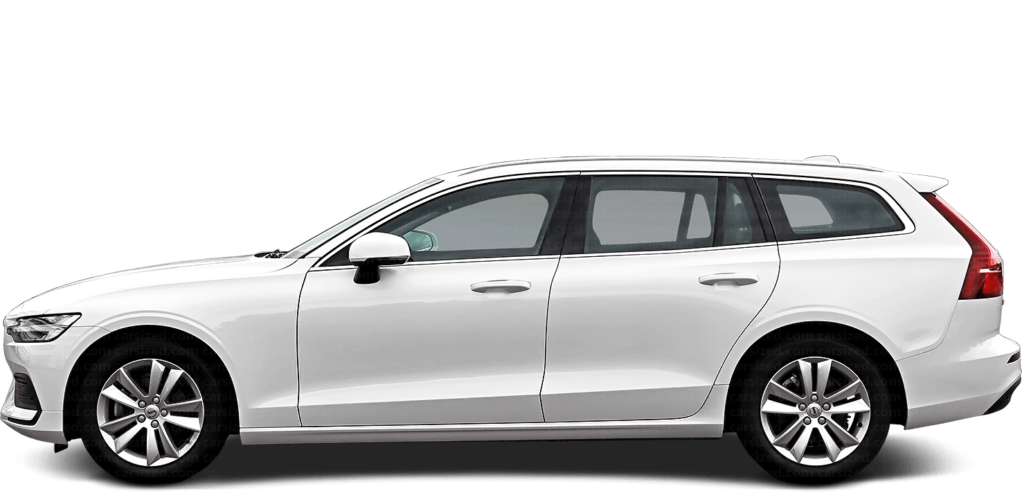 Volvo V60 Estate 2018-present Side View